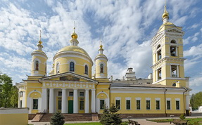 Troickii Cathedral in Podolsk - interactive spherical panorama