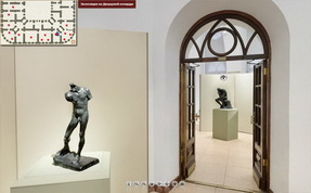 Art exhibition by Auguste Rodin»